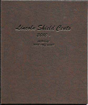 2010  2018 Lincoln Shield Cent Complete P,  D And S Proofs In Dansco Album