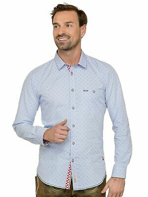 Stockerpoint Traditional Shirt Long Sleeve Modern Fit Leeroy Light Blue