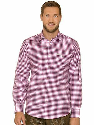 Stockerpoint Traditional Shirt Long Sleeve Comfort Fit Campos3 Berry
