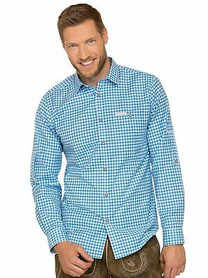 Stockerpoint Traditional Shirt Long Sleeve Comfort Fit Campos3 Turquoise