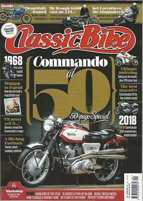 CLASSIC BIKE MAGAZINE-April 2018 Issue- (NEW)*Post included to UK/Europe/USA