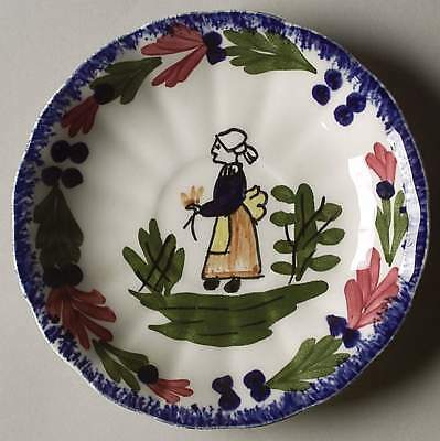 Blue Ridge Southern Pottery FRENCH PEASANT Demitasse Saucer 6317756