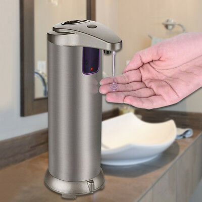 Stainless Steel Hands Free Automatic IR Sensor Touchless Soap Liquid Dispenser