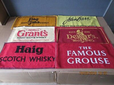 Scotch Whisky Bar Towels In Excellent Condition