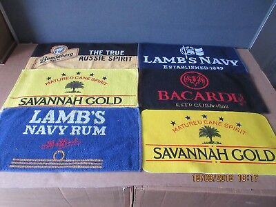 Rum Bar Towels In Excellent Condition