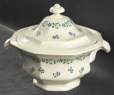 Iroquois PERIWINKLE Round Covered Vegetable Bowl 269171