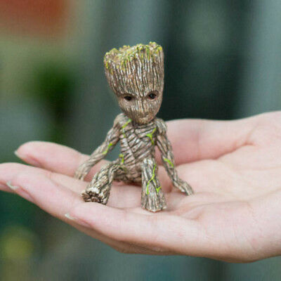 "2"" Cute Guardians of The Galaxy Vol. 2 Baby Groot Figure Style Decor Toy Gift"