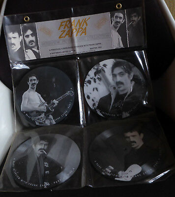Frank Zappa – Limited Edition Interview Picture Disc Collection Bakpak 1003
