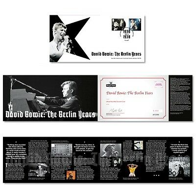 David Bowie The Berlin Years Souvenir Cover Stamp Set ROYAL MAIL LTD EDITION