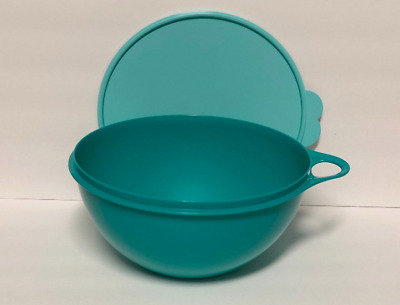 Tupperware Thatsa Bowl JR ~12-Cups~ Container Mixing Serving & Storage Green New