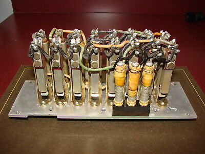 5 Western Electric Precision Resistors, 16 Type 226C ¼ Inch Jacks in a Bank