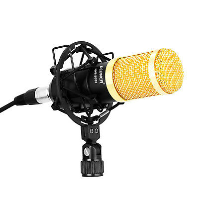 Neewer NW-8000 Studio Broadcasting Recording Metal Condenser Microphone Set