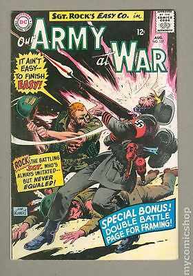 Our Army at War #157 1965 FN/VF 7.0