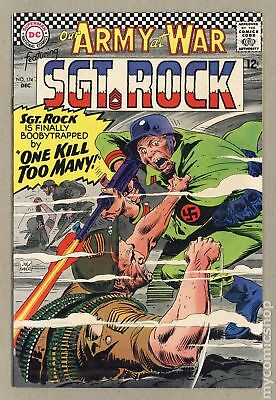Our Army at War #174 1966 VG/FN 5.0