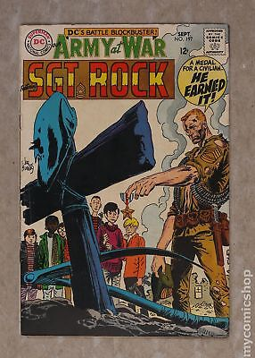 Our Army at War #197 1968 VG/FN 5.0
