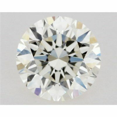 Loose Moissanite Off White Yellow Color 0.50 TO 4.58 CT (VVS1-VS2) Round Cut