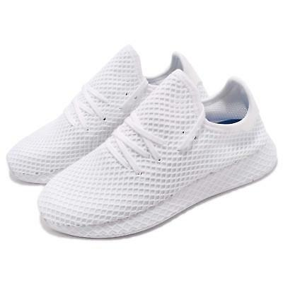 online retailer 0beb6 f2413 adidas Originals Deerupt Runner White Men Running Shoes Sneakers CQ2625