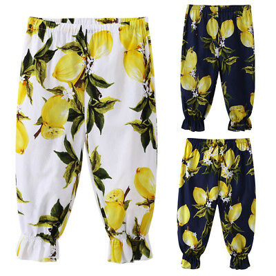 Infant Kids Baby Girls Loose Casual Pants Leggings Summer Beach Sports Trousers