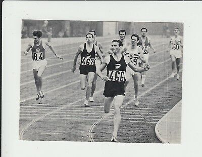 1964 Olympics : 1500 metres : Peter Snell : Dutch Brio sports card