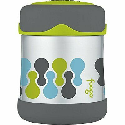Thermos Foogo Vacuum Insulated Stainless Steel Food Jar (10 oz/Valencia Pattern)