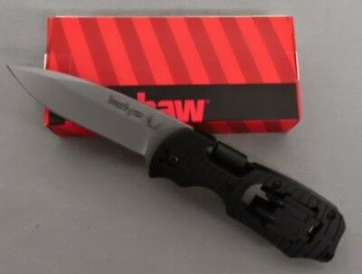 """Kershaw Knife 1920 Select Fire Glass-Reinforced Nylon Hdle 1/4"""" Hex Drive & Bits"""