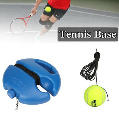 1set Singles Tennis Ball Training Practice Balls Back Base Trainer Tools +Tennis