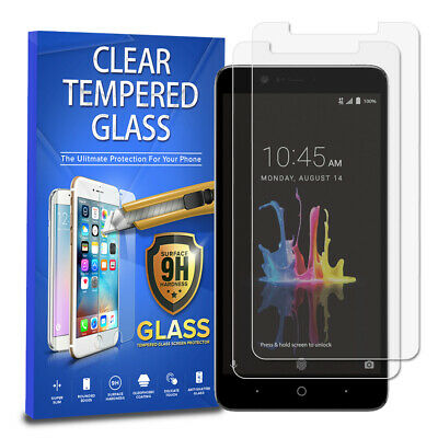 For ZTE Blade Z Max [2-PACK] Tempered Glass Screen Protector