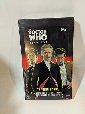 Topps BBC Doctor Who Timeless Trading Cards Hobby Box