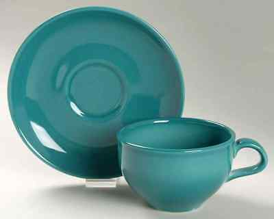 Iroquois CASUAL TURQUOISE Cup & Saucer 6302285