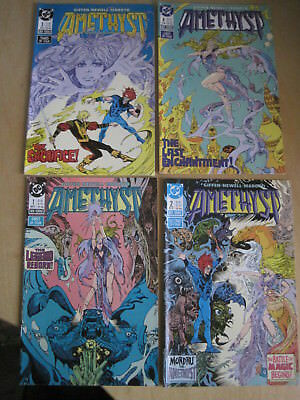 AMETHYST : COMPLETE CLASSIC 4 ISSUE 1987 DC series by GIFFEN, NEWELL & MOROTO