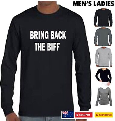 Men's Funny T-Shirts BRING BACK THE BIFF Rugby League NRL footy t shirt Tee top