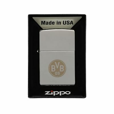 Zippo Windproof Lighter / 6x 4x 2cm / Highly Polished BVB Chrome Design / Sil...