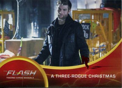 The Flash Season 2 Red Scarlet Speeder Stamped Parallel Base Card #26