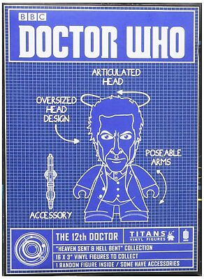 """New Doctor Who 12th Doctor Heaven Sent and Hell Bent 3"""" Mini-Figure Blind Box"""