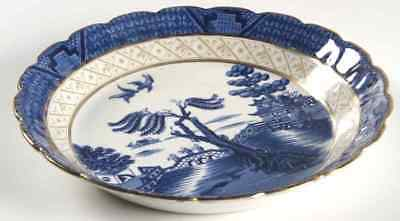 Booths REAL OLD WILLOW BLUE Soup Bowl 5936906