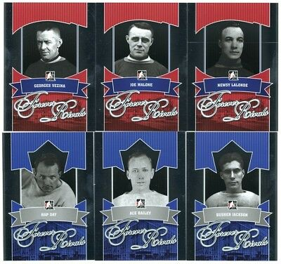 2012-13 ITG Forever Rivals Hockey 100-Card Base Set Plus Inserts