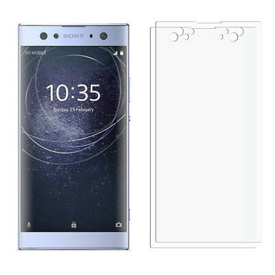 2 Front Clear Sony Xperia XA2 Ultra LCD Screen Display Protector Film Foil
