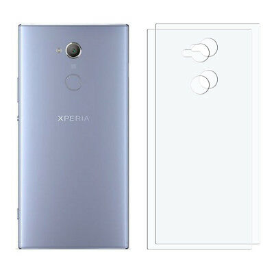 2 x HD Clear Sony Xperia XA2 Ultra For Back Screen Display Protector Film Foil