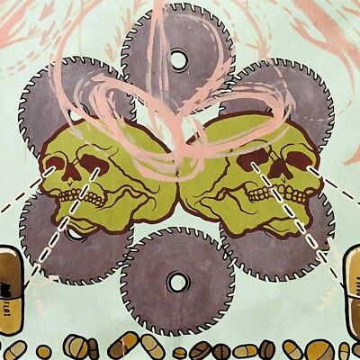 AGORAPHOBIC NOSEBLEED - Frozen Corpse Stuffed with Dope  LP  BABY BLUE