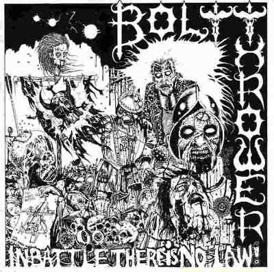 BOLT THROWER - In Battle there is no Law  LP  BLACK