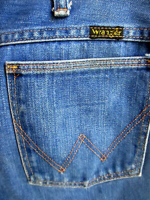 3a69ab2d 33x32 FIT True Vtg 70s WRANGLER Mens BOOTCUT HIPPY RELIC BOOTCUT Flare  Jeans USA