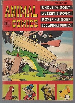 Animal Comics #25 Dell 02/47 Albert & Pogo Uncle Wiggily Stanley's Jigger+ Gd/vg