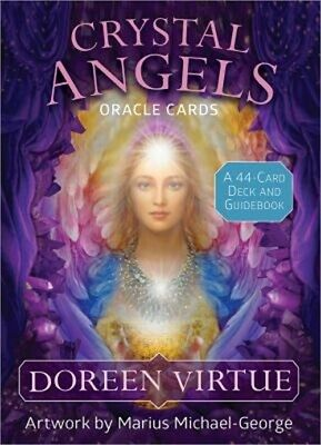 Crystal Angels Oracle Cards: A 44-Card Deck and Guidebook (Cards)