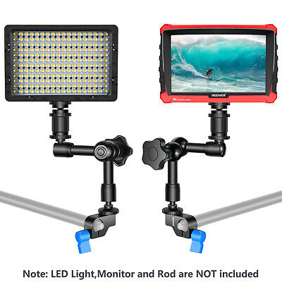 Neewer Aluminum Alloy Articulating Magic Arm for Mounting LED Light Monitor