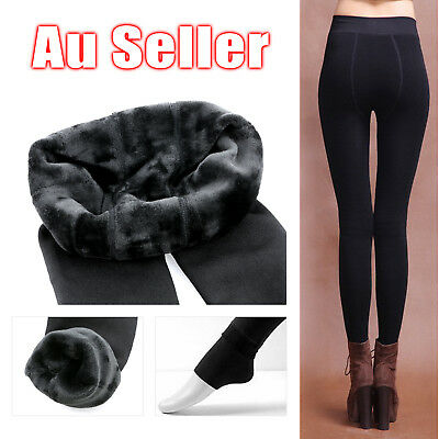 Women Warm Winter Fitness Leggings Thick Fleece Stretch Skinny Trousers Pants