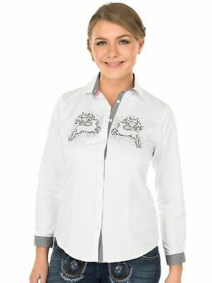 Orbis Traditional Costume Blouse 350064-2879 Long Sleeve White