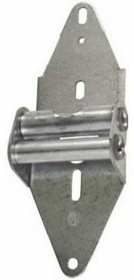 National Hardware V7609 7-3/8 High Hinge #2 W/Carriage Bolt and Nuts In