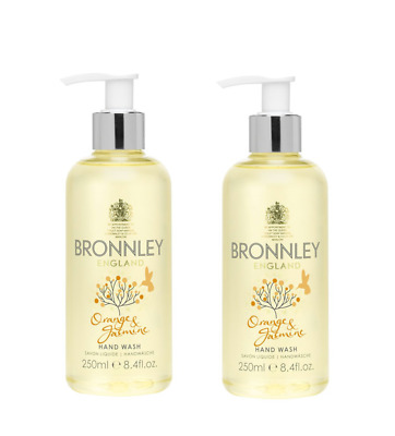 2x Bronnley Orange & Jasmine – Hand Wash 250ml