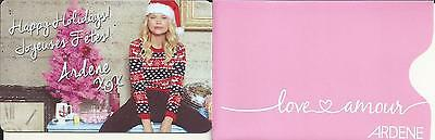 New Nice Girl Mint Gift Card + Sleeve From Ardene Canada Bilingual No Value