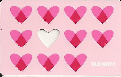Valentine's Day Mint Gift Card From Old Navy Canada Bilingual No Cash Value